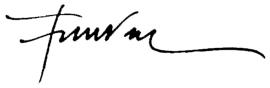 signatura francesc negra