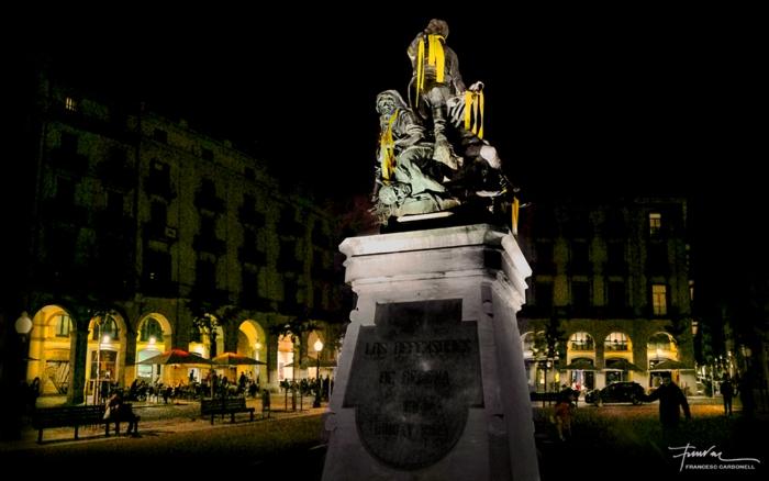 Plaça Independència. Girona