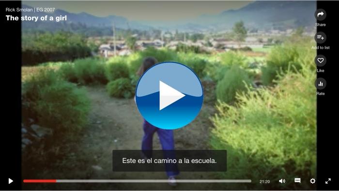 La història d'una nena