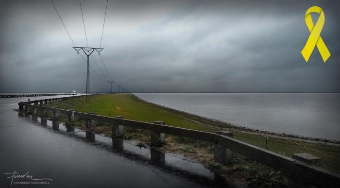 camí per arribar a la petita illa de rømo, al mar del nord b