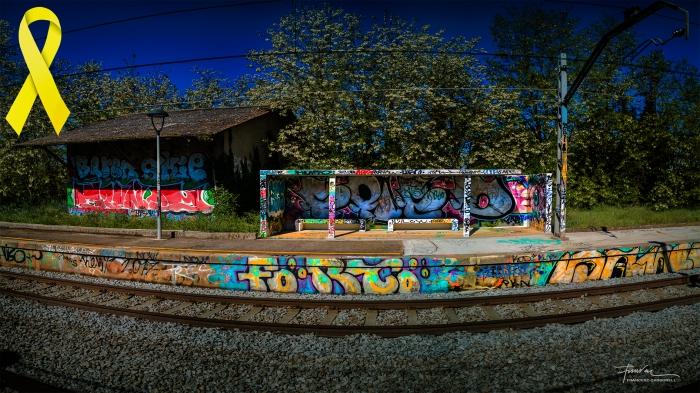 Grafits a l'estació b