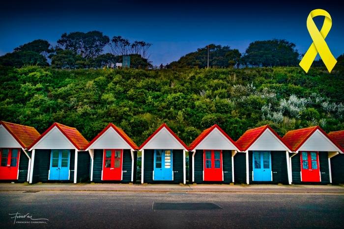 Bournemouth (England) Casetes de banys b